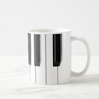 piano keys coffee mugs