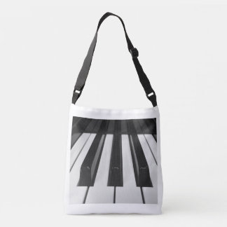 Piano Keys Crossbody Bag