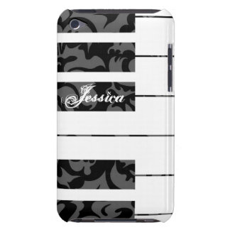 Piano Keys Damask Cover iPod Case-Mate Cases