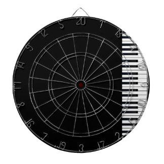 Piano Keys Dart Board