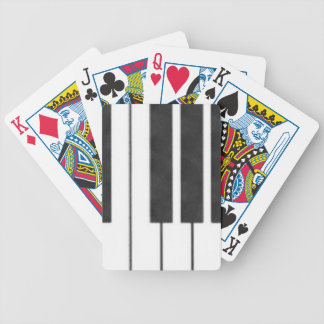 Piano Keys in the Key of Me! Bicycle Playing Cards