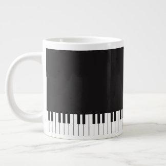 Piano Keys Jumbo Coffee Mug