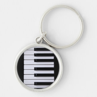Piano Keys Key Ring