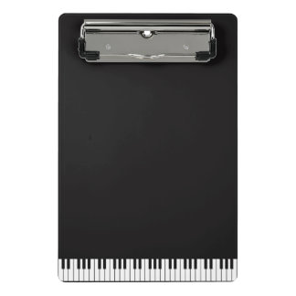 Piano Keys Mini Clipboard