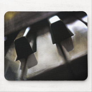 piano keys mouse pad