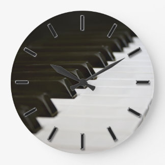 Piano Keys music lover wall clock