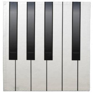 Piano Keys Napkin