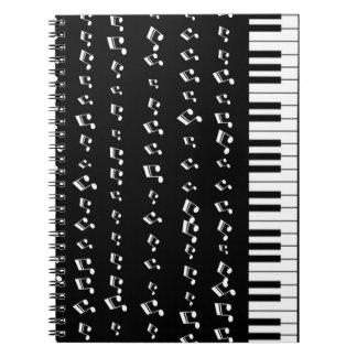 Piano Keys Note Book
