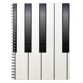 Piano Keys Notebooks