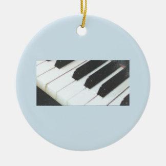 Piano Keys Ornament