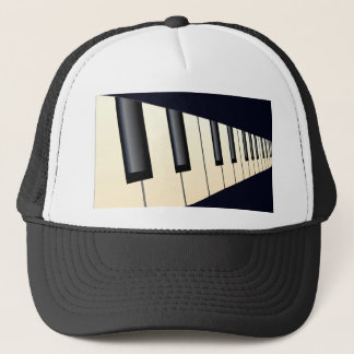 Piano Keys Perspective Trucker Hat