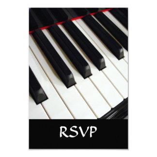 Piano Keys Photograph Card