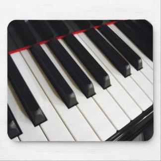 Piano Keys Photograph Mouse Pad