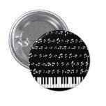 Piano Keys Pinback Buttons