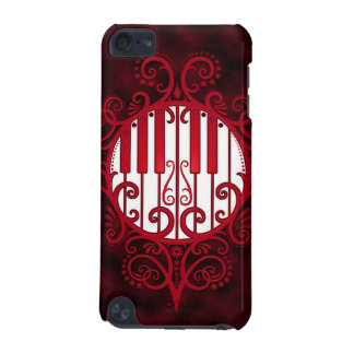 Piano Keys - red iPod Touch 5G Cover