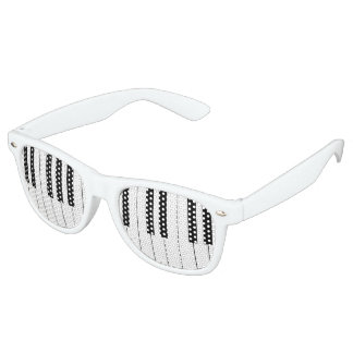 Piano Keys Retro Sunglasses