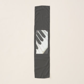 PIano keys scarf