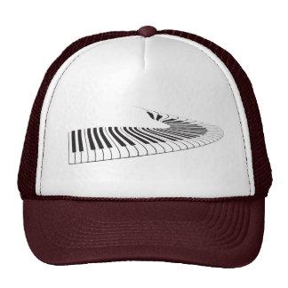Piano Keys Swerve Trucker Hat