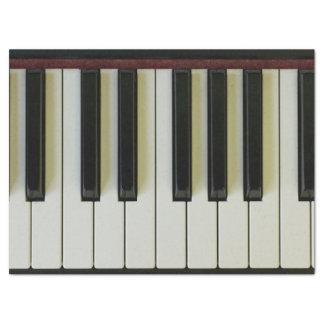 Piano Keys Tissue Paper