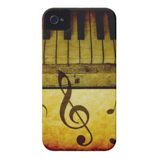 Piano Keys Vintage iPhone 4 Case-Mate Cases