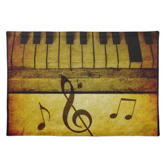 Piano Keys Vintage Placemat