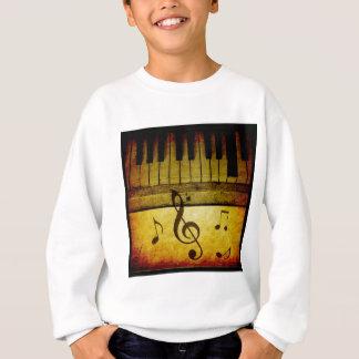Piano Keys Vintage Sweatshirt