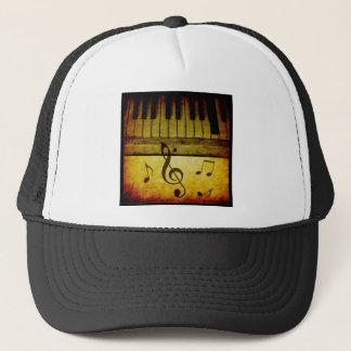 Piano Keys Vintage Trucker Hat