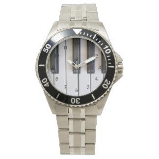 Piano Keys Watch