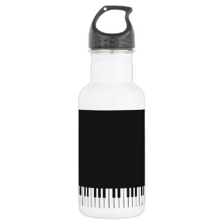 Piano Keys Water Bottle