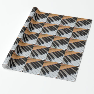 Piano Keys Wrapping Paper