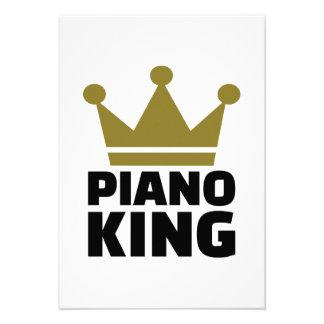 Piano King Custom Invitations