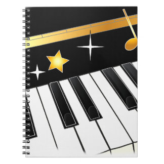 Piano Lover Note Books