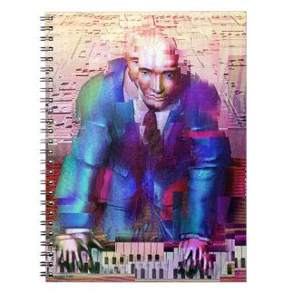 Piano Man notebook
