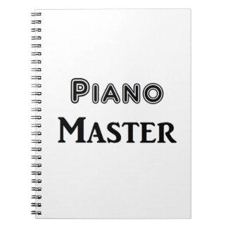 Piano Master Note Book