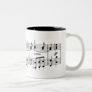 Piano Music Coffee Mug