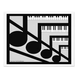 Piano Music Invitation