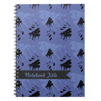 Piano Music Journal Notebook