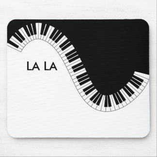 Piano music La La Mouse Pad