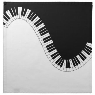 PIANO MUSIC NAPKIN