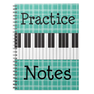 Piano Music Practice Notes Note Books