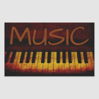 Piano Music Sticker