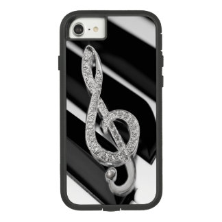 piano Music symbol Case-Mate Tough Extreme iPhone 8/7 Case