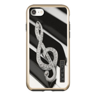 piano Music symbol Incipio DualPro Shine iPhone 8/7 Case