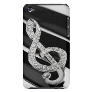 Piano musical symbol iPod touch cases