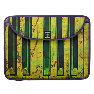 Piano Musically Style Sleeve For MacBooks