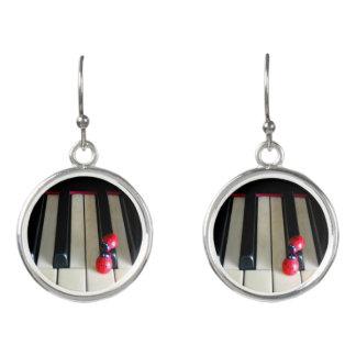 Piano - Nostalgia Drop Earrings