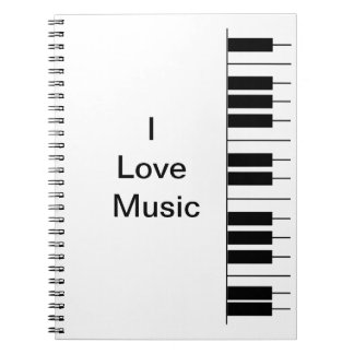 """Piano"" Notebook"