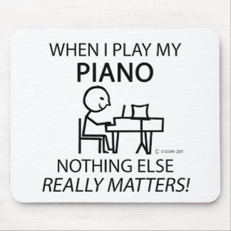 Piano Nothing Else Matters Mouse Pad