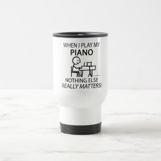 Piano Nothing Else Matters Stainless Steel Travel Mug