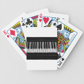Piano Old Grand Piano Keyboard Instrument Music Bicycle Playing Cards